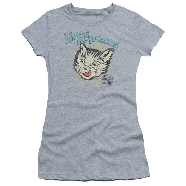 Puss N Boots/Cats Pajamas Junior Sheer in Heather