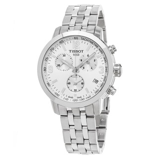 Tissot Men's T0554171103700 PRC 200 Silver Dial Stainless Steel Swiss Automatic Watch