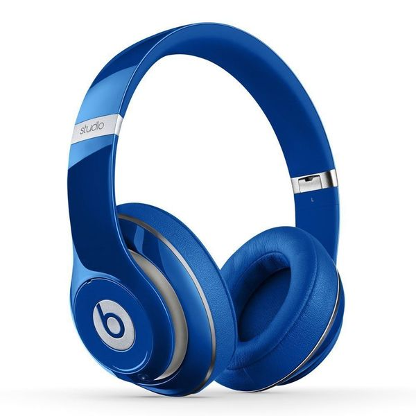 Beats Studio 2.0 Wired Over-Ear Blue Headphone