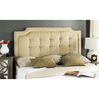 Safavieh Saphire Buckwheat Upholstered Tufted Headboard (Queen)