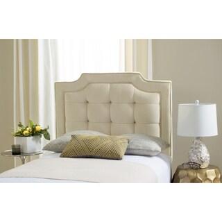 Safavieh Saphire Buckwheat Upholstered Tufted Headboard (Twin)