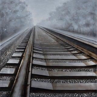 Aurelle Home Rails Wall Canvas