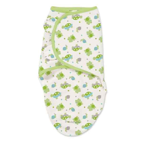 SwaddleMe Infant's Green Cotton Single Wrap