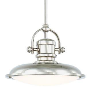Capital Lighting Transitional 1-light Polished Nickel LED Pendant