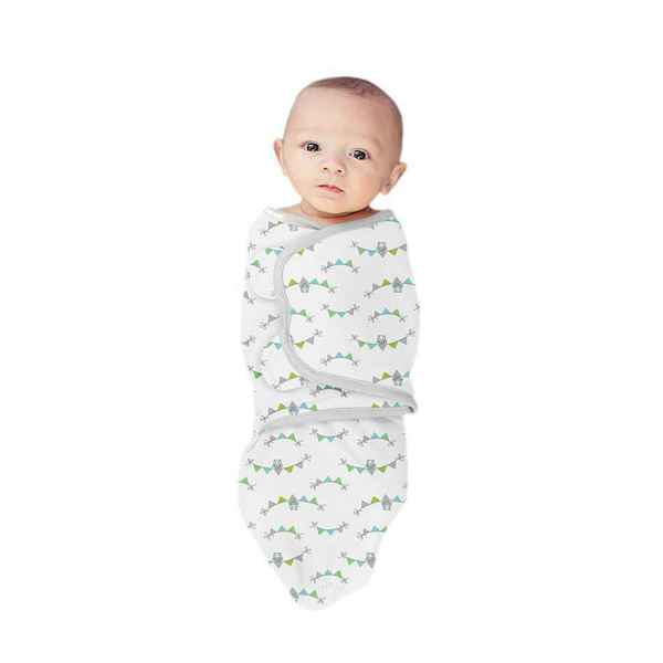 Summer Infants SwaddleMe Multicolor Cotton Wrap