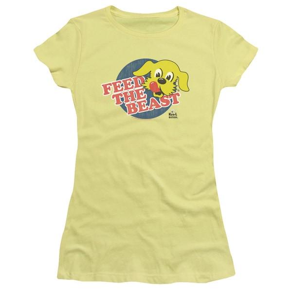 Ken L Ration/Feed The Beast Junior Sheer in Banana