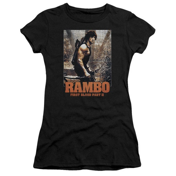 Rambo:First Blood Ii/The Hunt Junior Sheer in Black