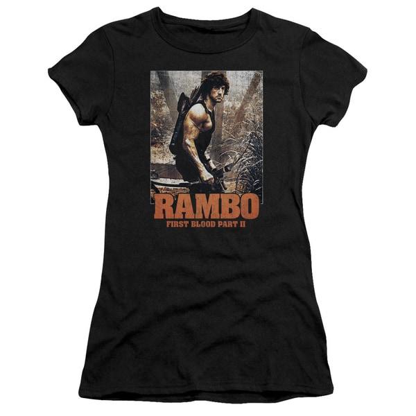 Rambo:First Blood Ii/The Hunt Junior Sheer in Black