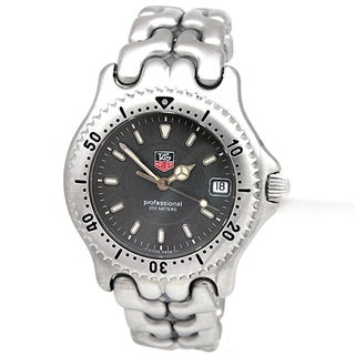 Tag Heuer Men's Professional Pre-owned Stainless Steel Watch