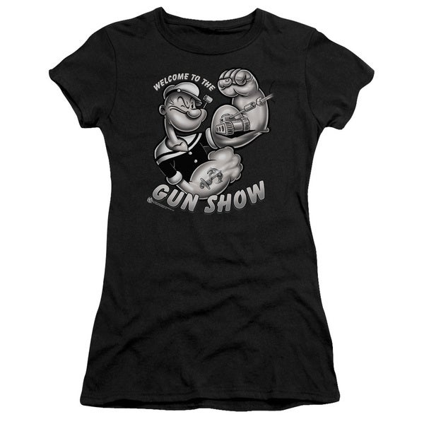 Popeye/Gun Show Junior Sheer in Black