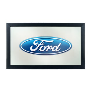 Ford Framed Logo Mirror - Ford Oval