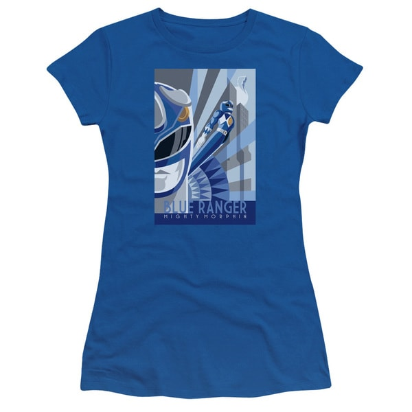 Power Rangers/Blue Ranger Deco Junior Sheer in Royal Blue
