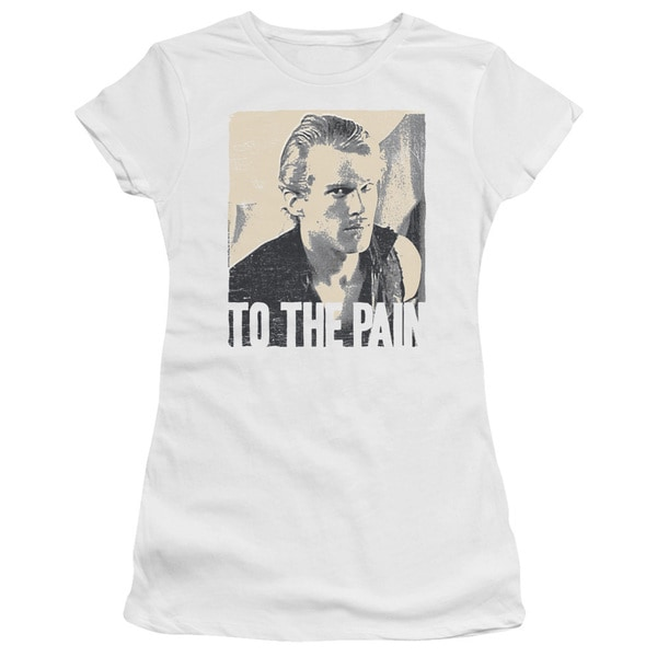 Princess Bride/To The Pain Junior Sheer in White