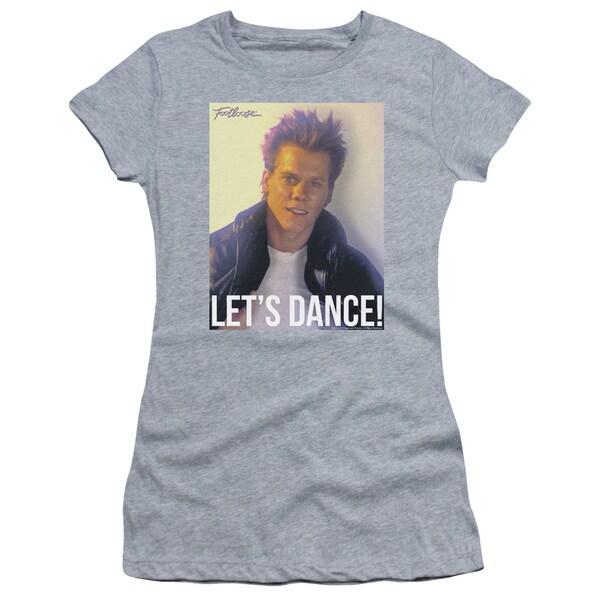 Footloose/Lets Dance Junior Sheer in Athletic Heather