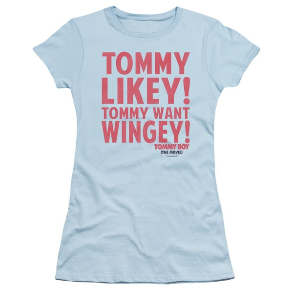 Tommy Boy/Want Wingey Junior Sheer in Light Blue