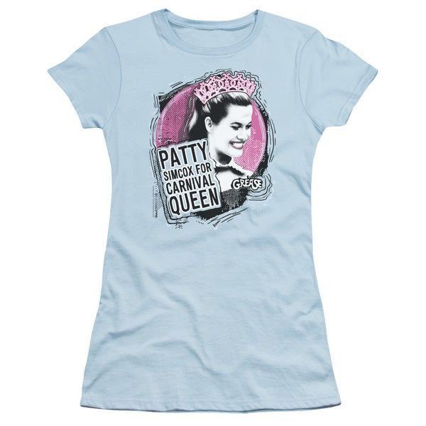 Grease/Carnival Queen Junior Sheer in Light Blue