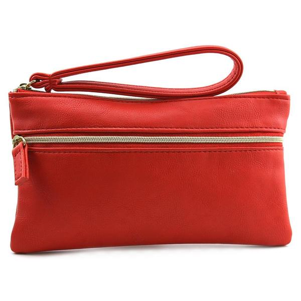 Kelly & Katie Women's Maria Red Faux Leather Handbag