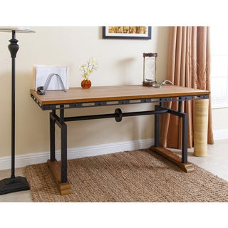 Abbyson Living Northwood Industrial Writing Desk