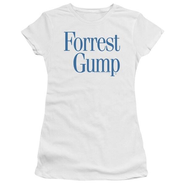 Forrest Gump/Logo Junior Sheer in White