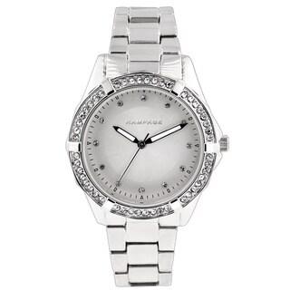 Rampage Women's RP1073SL Silverplated Bracelet Watch