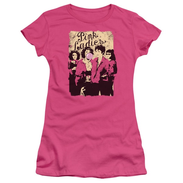 Grease/Pink Ladies Junior Sheer in Hot Pink