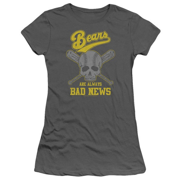 Bad News Bears/Always Bad News Junior Sheer in Charcoal
