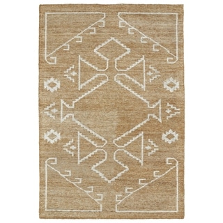 Handmade Collins Copper & Ivory Nomad Rug (8'0 x 11'0)