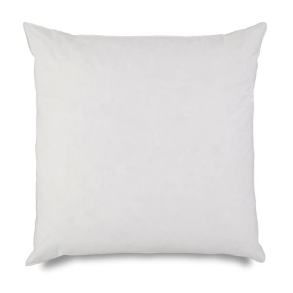 Martex 26 inch euro square feather pillow insert for 26 inch square pillow insert