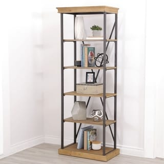 Abbyson Living Dutch Industrial 5-tier Bookcase