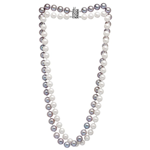 Pearl Multicolored Double Necklace