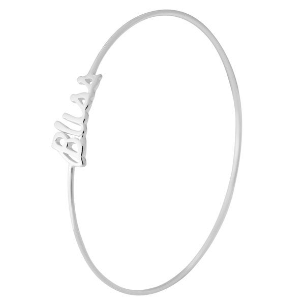Sterling Silver Bliss Bangle Bracelet