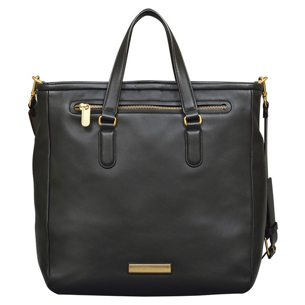 Marc by Marc Jacobs Luna Black Leather Tote Bag