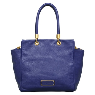 Marc by Marc Jacobs Too Hot to Handle Bentley Deep Ultraviolet Leather Tote Bag