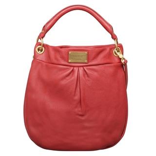 Marc by Marc Jacobs Classic Q Hillier Wild Raspberry Hobo Handbag