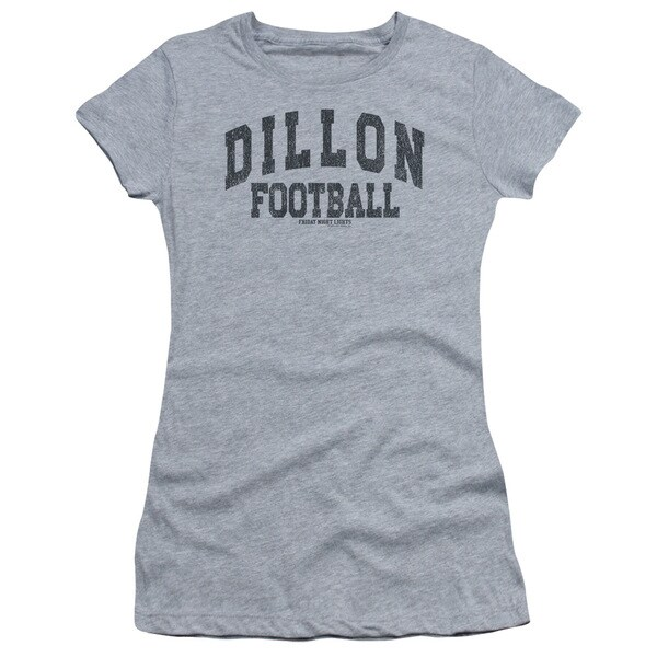 Friday Night Lights/Dillion Arch Junior Sheer in Athletic Heather