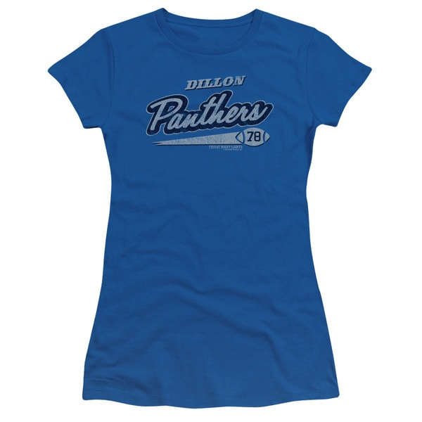 Friday Night Lights/Panthers 78 Junior Sheer in Royal Blue