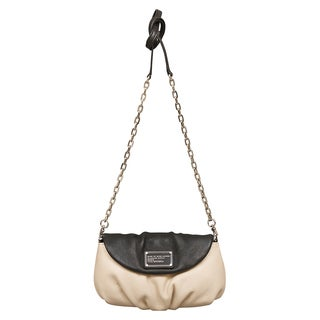 Marc by Marc Jacobs Classic Q Karlie Black/ White Crossbody Handbag