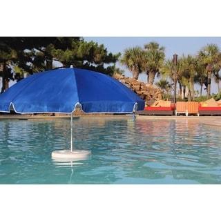 Pool Buoy Original Pacific Blue ABS/Plastic/Aluminum Floating Umbrella and Buoy