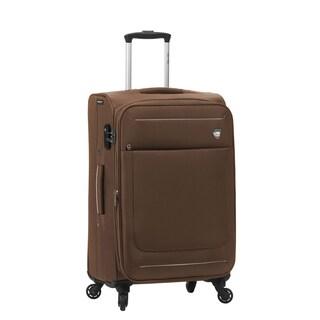 Mia Toro ITALY Corvara 24-inch Expandable Spinner Upright Suitcase