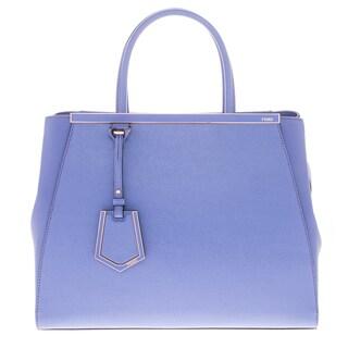 Fendi Regular 2Jours Multi-Print Accented Bag