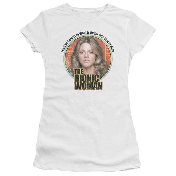 Bionic Woman/Under My Skin Junior Sheer in White