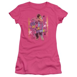 Punky Brewster/Punky Powered Junior Sheer in Hot Pink