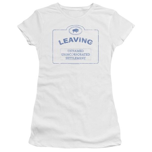 Warehouse 13/Now Leaving Univille Junior Sheer in White
