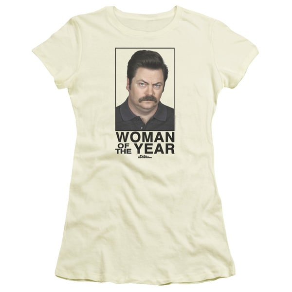 Parks&Rec/Woman Of The Year Junior Sheer in Cream