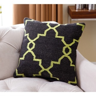 Abbyson Living Blakely Lattice Polyester-filled New Zealand Wool 20-inch Throw Pillow
