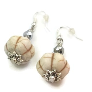 Mama Designs Handmade Sterling Silver Drop Style Earrings