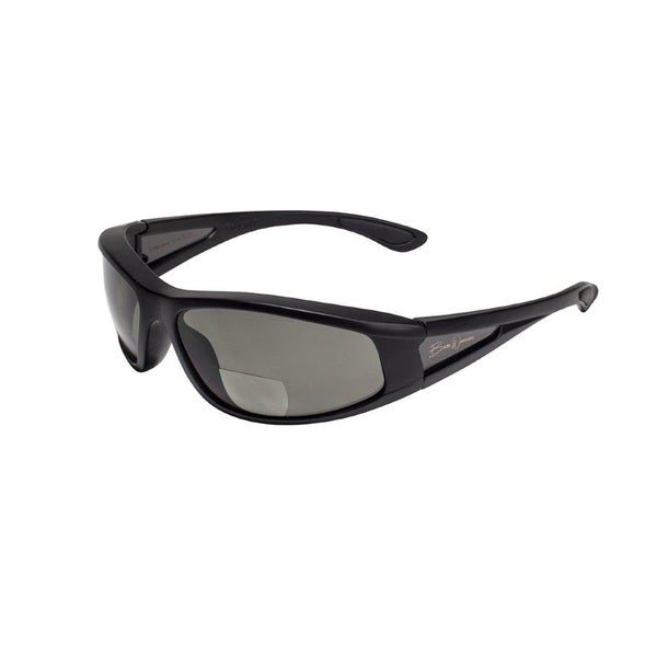 BluWater Babe 2 Black Frame with Grey Polarized Bifocal Lens