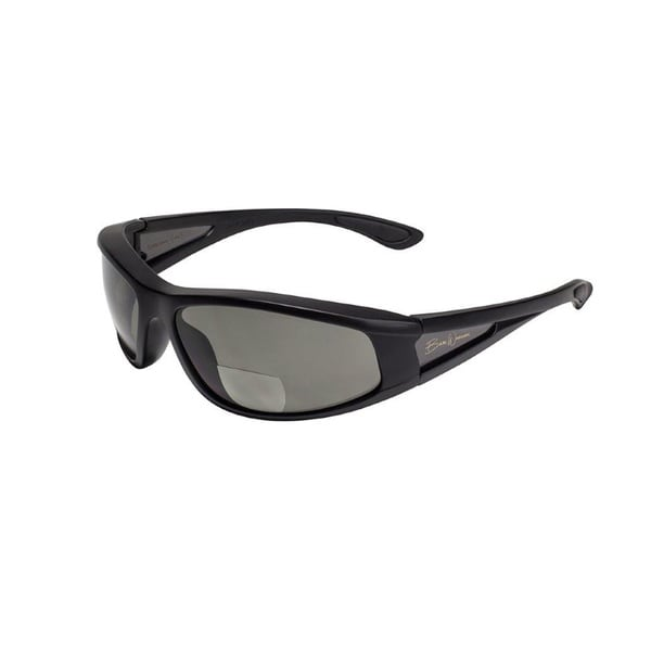 BluWater Babe 2 Black Frame with Grey Polarized Bifocal Lens