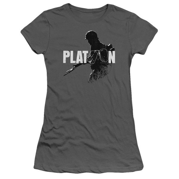 Platoon/Shadow Of War Junior Sheer in Charcoal in Charcoal
