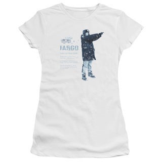 Fargo/This Is A True Story Junior Sheer in White in White